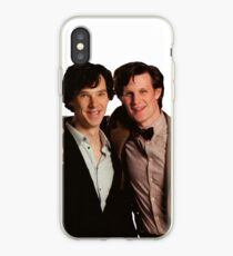 Sherlock and Eleven iPhone Case