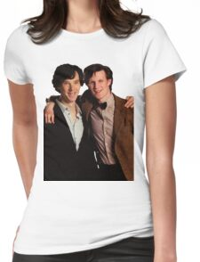 Sherlock and Eleven Womens Fitted T-Shirt