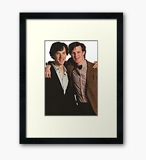 Sherlock and Eleven Framed Print