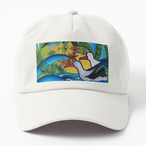 Native New Zealand in its vibrant glory Dad Hat