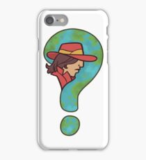 Where in the world is Carmen Sandiego? iPhone Case/Skin