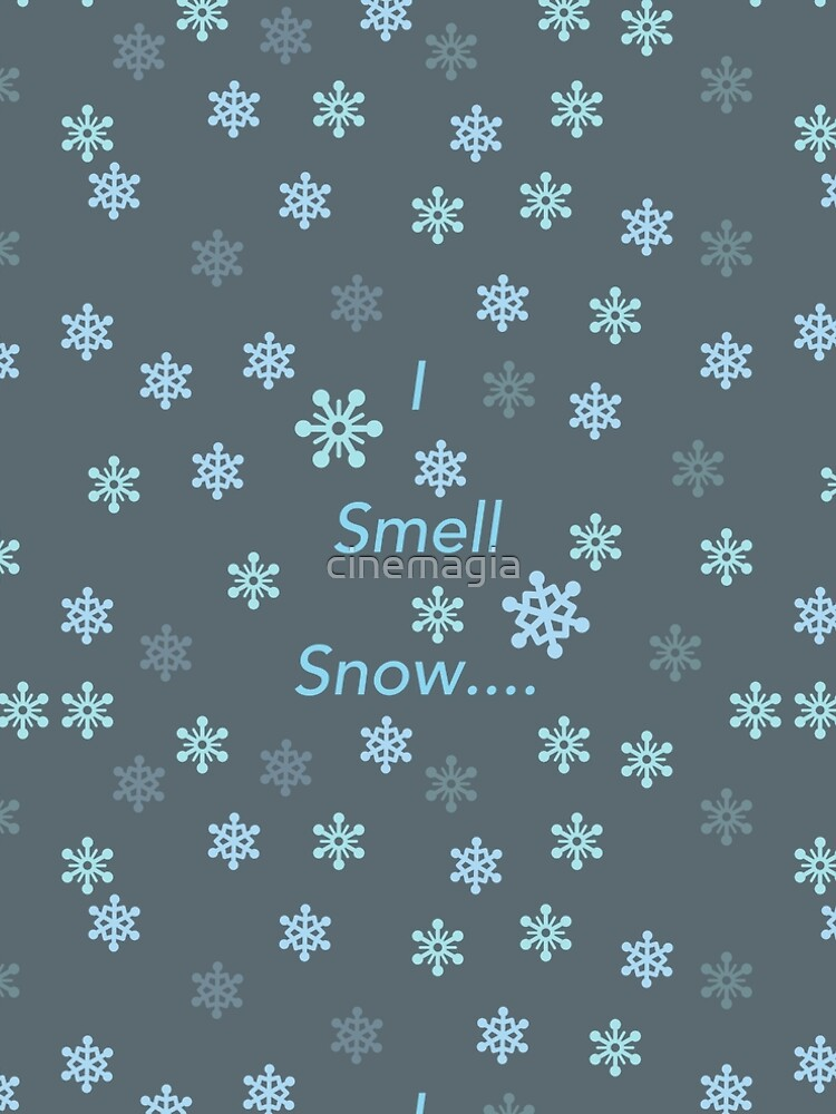 I Smell Snow by cinemagia