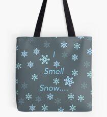 Bolsa de tela Yo huelo nieve