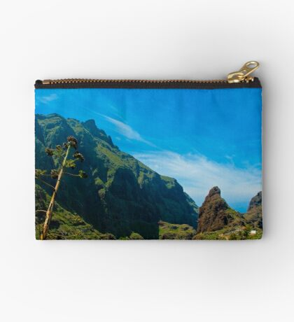 Masca - the most beautiful place on earth Zipper Pouch