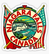 Niagara Falls Canada Vintage Travel Decal Sticker