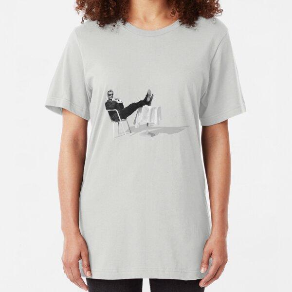 Marcello Mastroianni takin' it easy Slim Fit T-Shirt