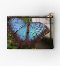 Blue Butterfly Studio Pouch