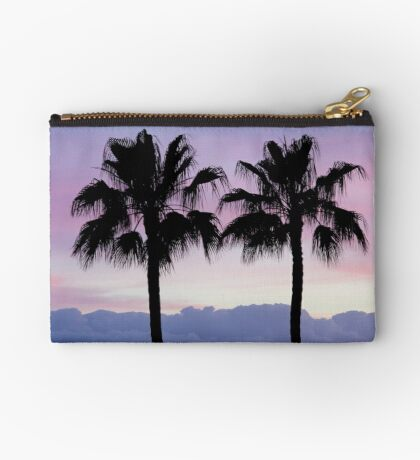 Purple sunset in Los Gigantes Studio Pouch