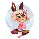 Sky bunny by aninhat-t
