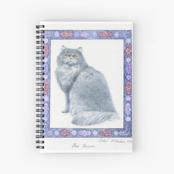 Blue Persian Spiral Notebook