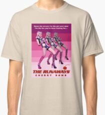 THE RUNAWAYS (2) Classic T-Shirt