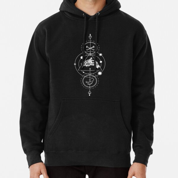 The ArchAndroid Mens Hoodie Black YOLO Janelle Mon/áe