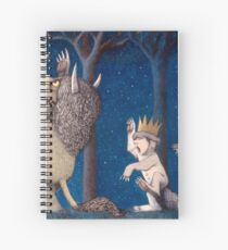Where the Wild Things Are Wild Rumpus at night Spiral Notebook