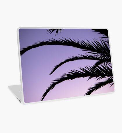 Palm tree sunset Laptop Skin
