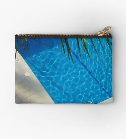An inviting pool Zipper Pouch