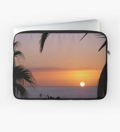 Sunset in Los Gigantes Laptop Sleeve