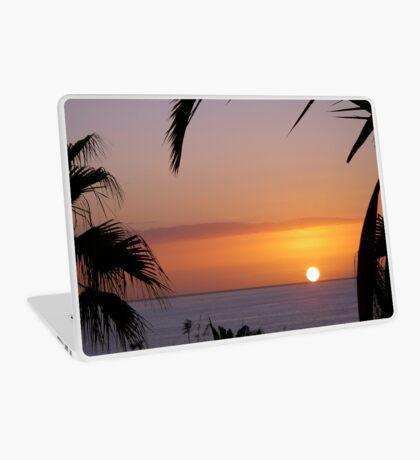 Sunset in Los Gigantes Laptop Skin