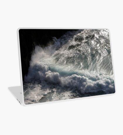 Crab Island waves Laptop Skin