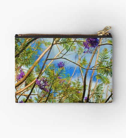 Jacaranda in flower Zipper Pouch