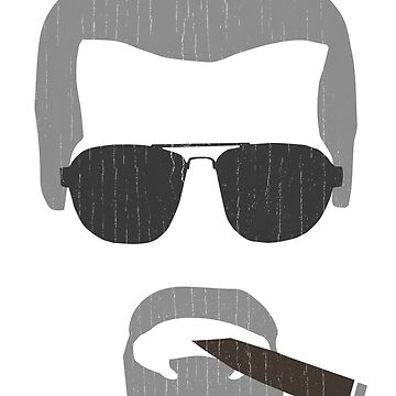 Clay Morrow / Ron Perlman Cigar (Sons of Anarchy) by BenFraternale