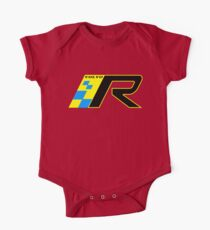 Volvo R Design Racing Graphic YEL2 Kids Clothes