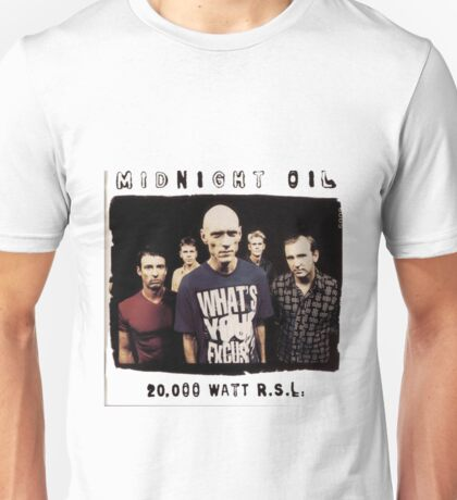 Midnight-Oil Unisex T-Shirt