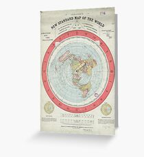 Flat earth greeting cards redbubble flat earth greeting card m4hsunfo