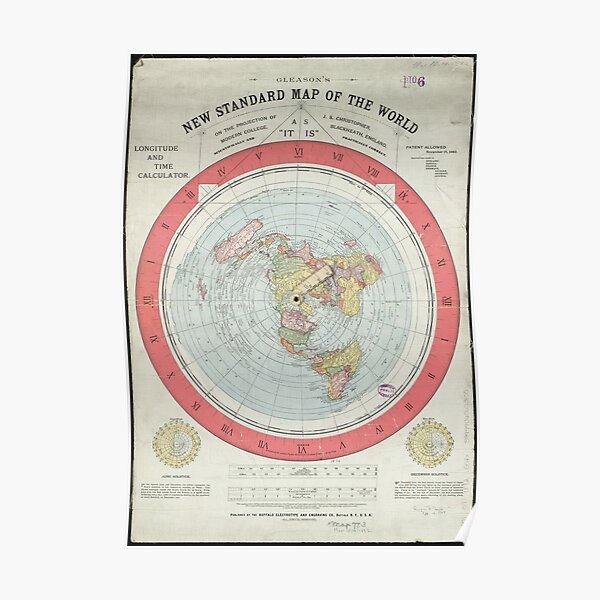 Flat Earth Poster