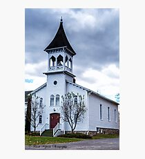South Perinton County Church Photographic Print