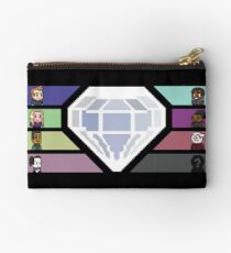 Pixel White Diamond | Community Studio Pouch