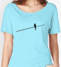 Bird on a wire Women's Relaxed Fit T-Shirt