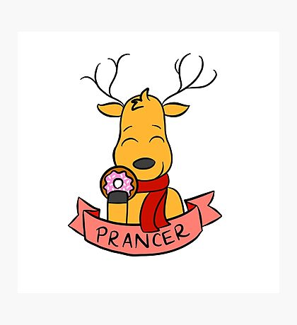 Prancer Photographic Print