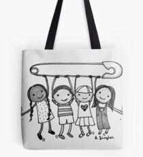 #safetypin Tote Bag