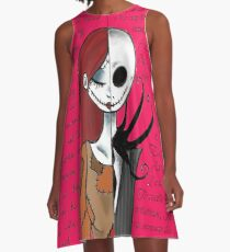 Nightmare Before Christmas NY 2! A-Line Dress