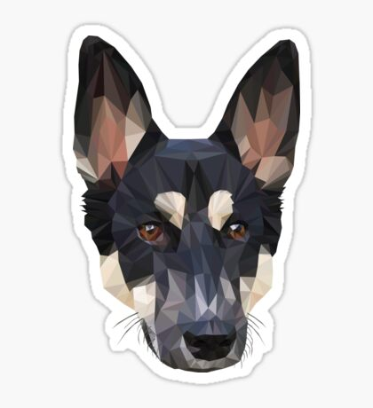 Digital Dog Sticker