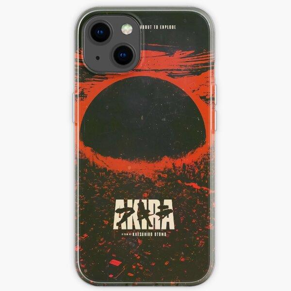 Akira cyberpunk city explosion -  iPhone Soft Case