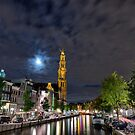 Amsterdam at night by pahas