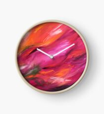 Reflections of Spring Clock