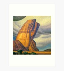 Labor Rock Art Print
