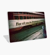 Vintage Pittsburgh Trolly Laptop Skin