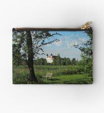 Germany, Monastery at Countyside, Bavaria, Studio Pouch
