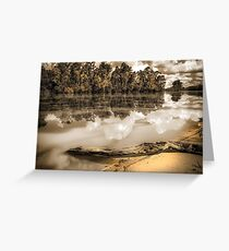 Riverbank Greeting Card
