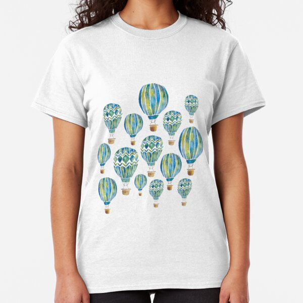 Hot Air Balloons - collage Classic T-Shirt