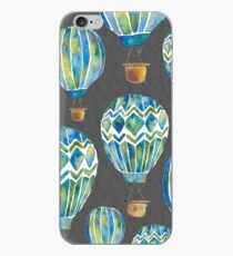 Hot Air Balloons - collage iPhone Case
