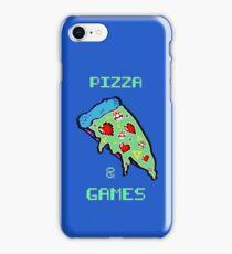 Pizza & Games iPhone Case/Skin