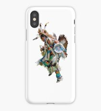 Battle dance American Indians  iPhone Case/Skin