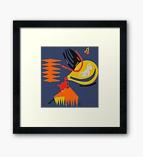 Abstract - Red/Yellow/Orange Framed Print