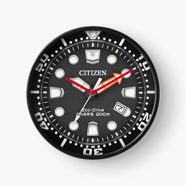Citizen Promaster Eco-Drive Diver 200m Black - a Vintage Diver Wrist Watch Clock