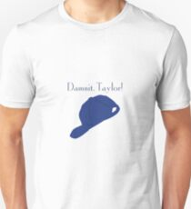 """Damnit Taylor!"" Luke Danes quote and hat Gilmore Girls T-Shirt"
