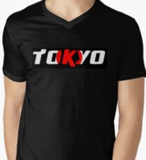 Simplistic Tokyo Men's V-Neck T-Shirt